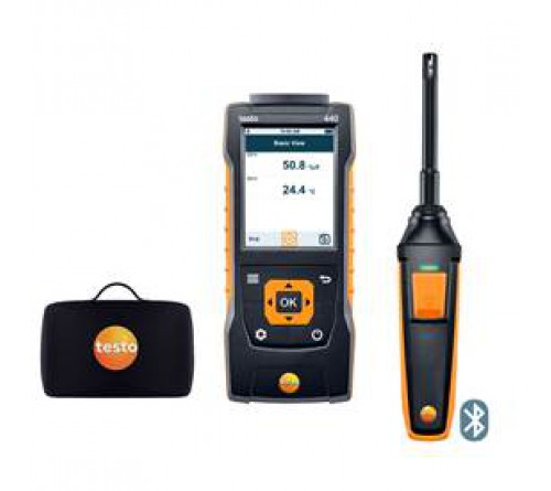 testo 440 Bluetooth®'lu Nem Seti