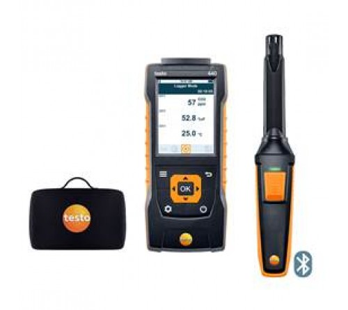 testo 440 Bluetooth®'lu CO₂ Seti