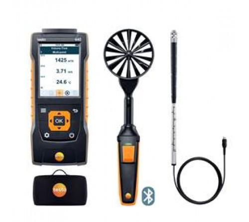 testo 440 Bluetooth®'lu Hava Hızı ComboSet 2