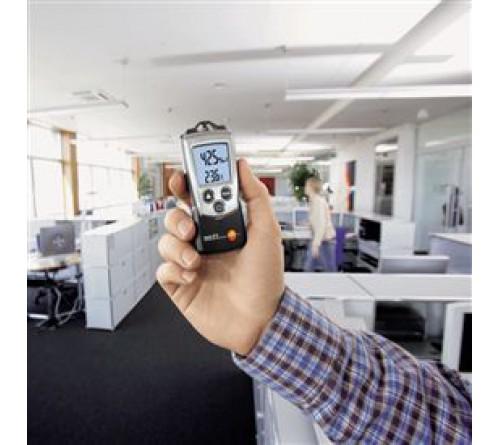 testo 610 - Nem/sıcaklık/yaş termometre sıcaklığı/çiğleşme noktası ölçüm cihazı