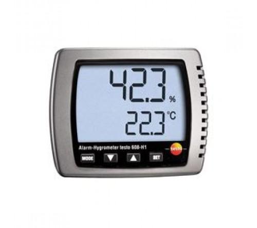 testo 608-H1 - Nem/sıcaklık/çiğleşme noktası ölçüm cihazı