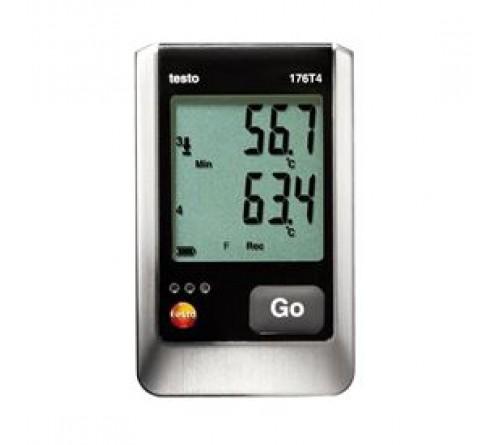testo 176 T4 Datalogger sıcaklık (4-kanal, TC)