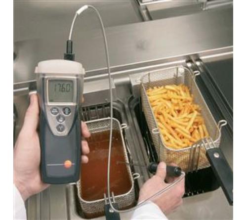 testo 925 - Sıcaklık ölçüm cihazı (tek kanallı, Termokupıl-K Tipi)