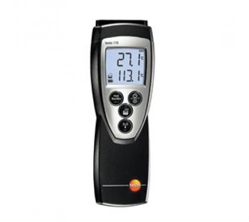 testo 110 - Sıcaklık ölçüm cihazı (tek kanallı, NTC)