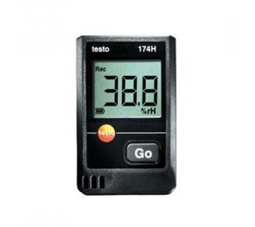 testo 174H set – sıcaklık ve nem için mini datalogger