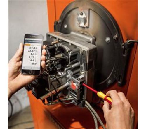 testo 330i - Baca gazı analizörü