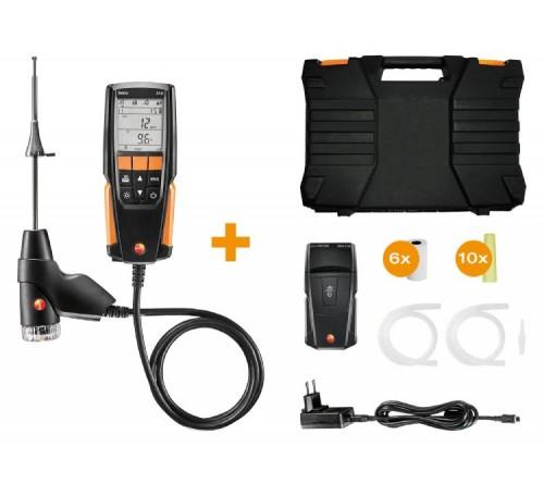 testo 310 - Baca gazı analiz cihazı yazıcılı seti